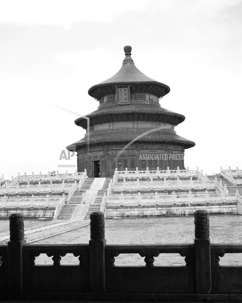Watchf Associated Press International News   CHINA APHS103487  Temple of Heaven