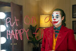 This image released by Warner Bros. Pictures shows Joaquin Phoenix in a scene from the film,