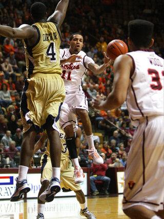 Georgia Tech Virginia Tech Basketball