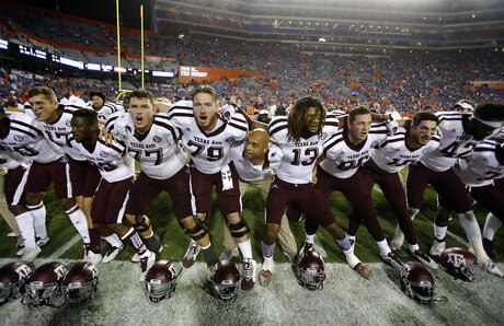 Texas A M Florida Football