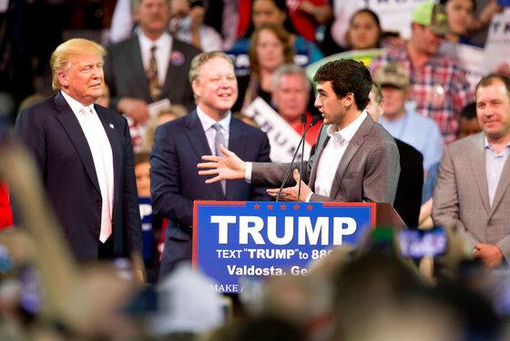 Donald Trump, Chase Elliott, Brian France