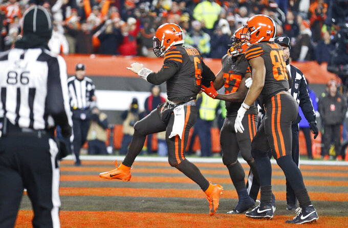 Browns enter season's stretch changed after Garrett incident
