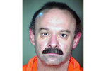 FILE - This undated file photo provided by the Arizona Department of Corrections shows Joseph Rudolph Wood. A federal appeals court says media should be able to hear and not just see the entire process of executing condemned inmates in Arizona. But the 9th U.S. Circuit Court of Appeals ruled Tuesday, Sept. 17, 2019, that the media and death-row inmates are not entitled to information about the origins of execution drugs or the qualifications of executioners. The case challenges procedures created after the 2014 execution of Joseph Wood, which his attorney said was