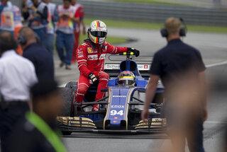 Sebastian Vettel, Pascal Wehrlein