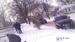 In this Jan. 6, 2015, still frame taken from police body camera video, a Burlington Police officer at lower left kneels over the body of Autumn Steele, who was accidentally shot and killed by a BPD officer responding to a domestic dispute call near Steele's home in Burlington, Iowa, after Steele's dog darted toward the officer, causing him to lose his footing and fire two shots as he fell backward into the snow. Accidental shootings by police happen across the United States every year, an Associated Press investigation has found. (Burlington Police Department via AP)