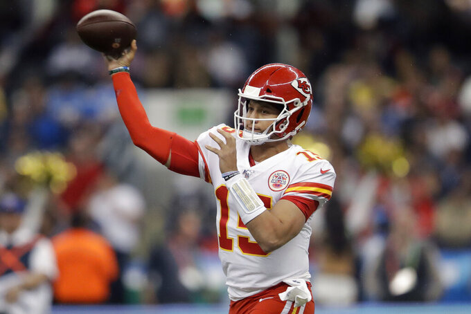 Chiefs' Mahomes views bye as chance to finally get healthy