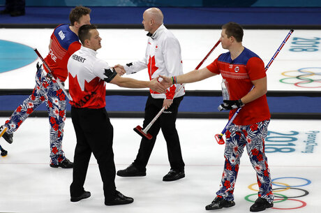 Pyeongchang Olympics Curling Cures the World