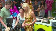 Paris Hilton Clothing Launch