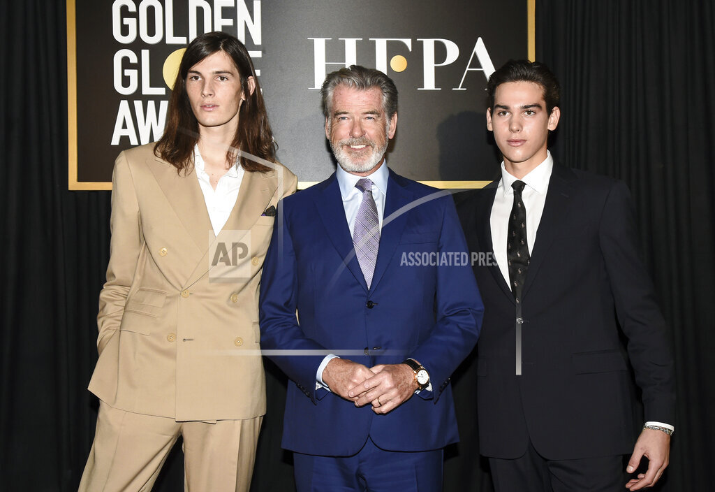 APTOPIX HFPA and THR Celebrate 2020 Award Season and Golden Globe Ambassador Reveal