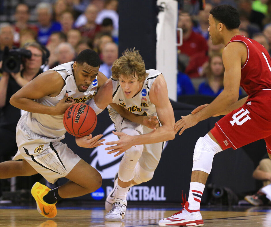 Darius Carter, Ron Baker, James Blackmon Jr.