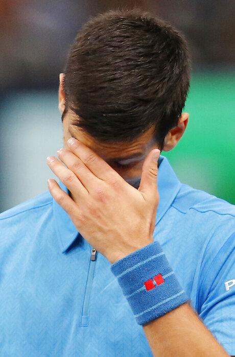 APTOPIX France Tennis Paris Masters