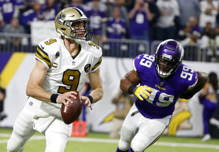 Saints Vikings Football