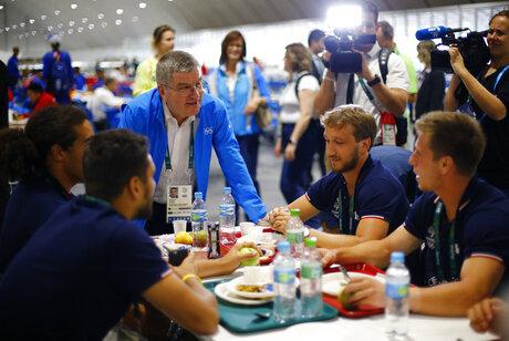 Rio Olympics Bach