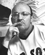 FILE - In this September 1972 file photo, Boston Red Sox manager Eddie Kasko pauses while talking to reporters in Boston. Kasko, an All-Star infielder who managed the Red Sox and spent nearly three decades with the team in a variety of roles, died Wednesday, June 24, 2020. He was 88. The Red Sox announced Kasko's death Wednesday night, three days shy of his 89th birthday. No cause was given. (AP Photo, File)