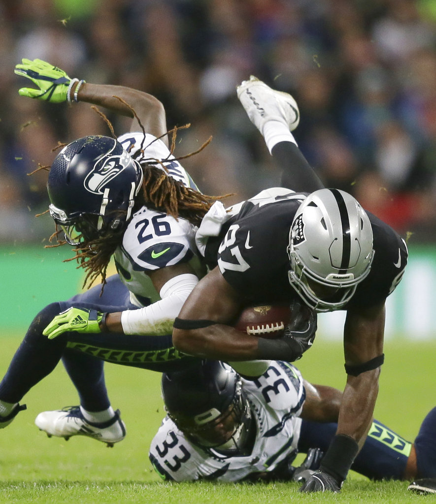 Seahawks Raiders Football