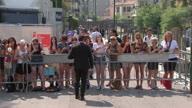 Italy Kristen Stewart arrival