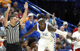 APTOPIX SEC Alabama Kentucky Basketball