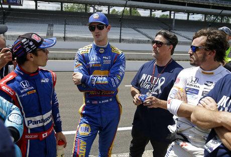 Michael Andretti, Takuma Sato, Alexander Rossi, Fernando Alonso
