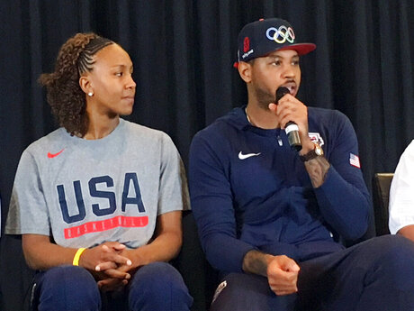 Carmelo Anthony, Tanika Catchings