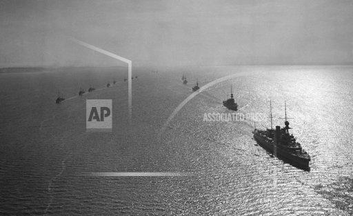 British Fleet Arriving in the Solent