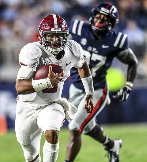 Alabama Mississippi Football