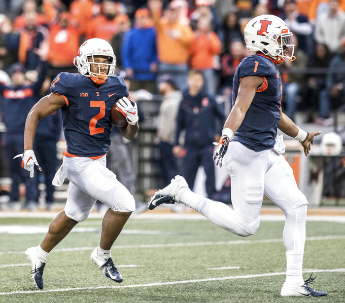 Game at Nebraska like a 'homecoming' for Illinois' AJ Bush