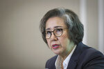 U.N. Special Rapporteur for Human Rights in Myanmar, Lee Yanghee, speaks during a press conference in Kuala Lumpur, Thursday, July 18, 2019. U.N. envoy Lee said the U.S. didn't