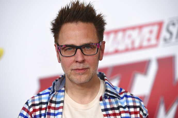 FILE - This June 25, 2018 file photo shows James Gunn at the premiere of