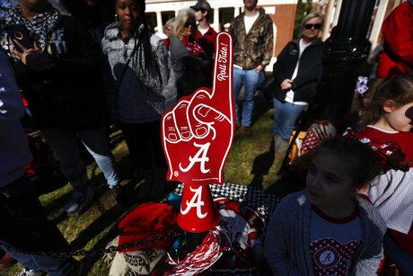 Alabama Championship Celebration