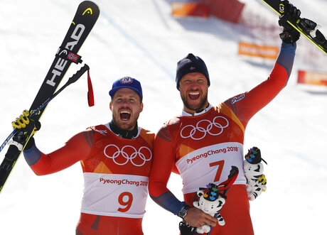 APTOPIX Pyeongchang Olympics Alpine Skiing Men