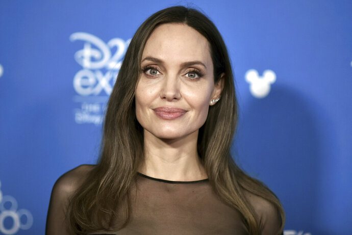 Angelina Jolie attends the