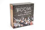 This image shows Boom Again, a trivia quiz game that speaks directly to the generations that grew up in the '50s, '60s and '70s. It features over 2,200 questions drawing from advertising slogans and jingles, politics and social movements, and movies, music and television. (Boom Again LLC via AP)