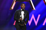 Jamie Foxx wins the award for outstanding supporting actor in a motion picture for
