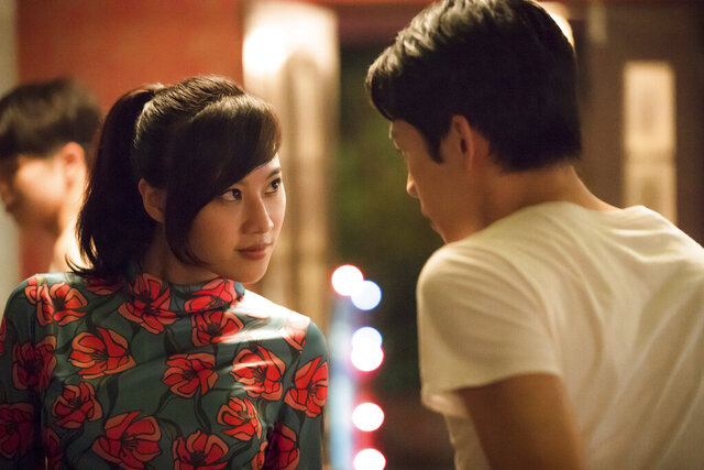 In this image released by Netflix, Yo-Hsing Fang, left, and Hong Chi Lee appear in a scene from