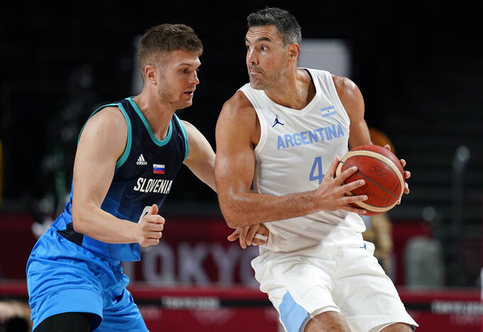 Doncic debuts with 48 points, Slovenia wins Olympic opener