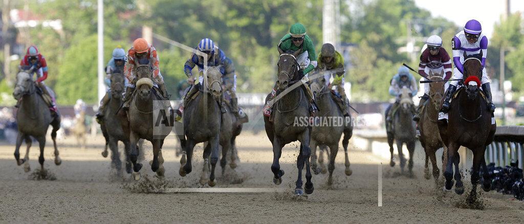 CORRECTION Kentucky Derby Horse Racing