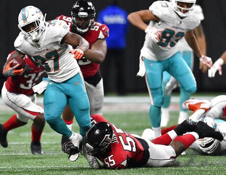 Dolphins Falcons Football