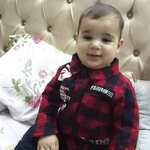 This undated photo provided by Al-Kawlak family of Qusai 6 months, who died in the deadliest airstrike during the 11-day war between Gaza's Hamas rulers and Israel in Gaza Strip. The single deadliest bombing raid of Israel's fourth war with Hamas collapsed two apartment buildings and killed 22 members of the extended al-Kawlak family, including a 6-month-old boy and his 89-year-old great-grandfather. The single deadliest bombing raid of Israel's fourth war with Hamas collapsed two apartment buildings and killed 22 members of the extended al-Kawlak family, including a 6-month-old boy and his 89-year-old great-grandfather. (Al-Kawlak family via AP)