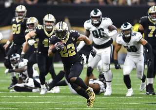 Eagles Saints Football