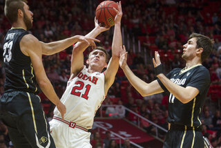 Colorado Utah Basketball