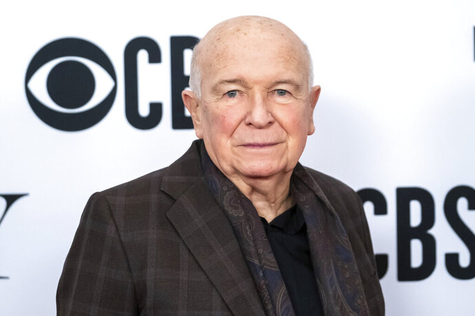 FILE - This May 1, 2019 file photo shows playwright Terrence McNally at the 73rd annual Tony Awards