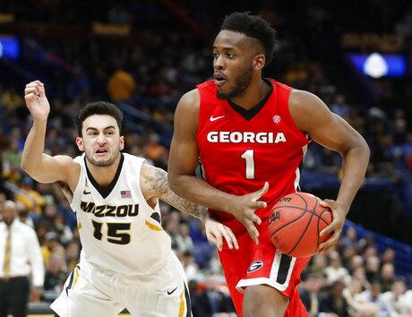 SEC Georgia Missouri Basketball