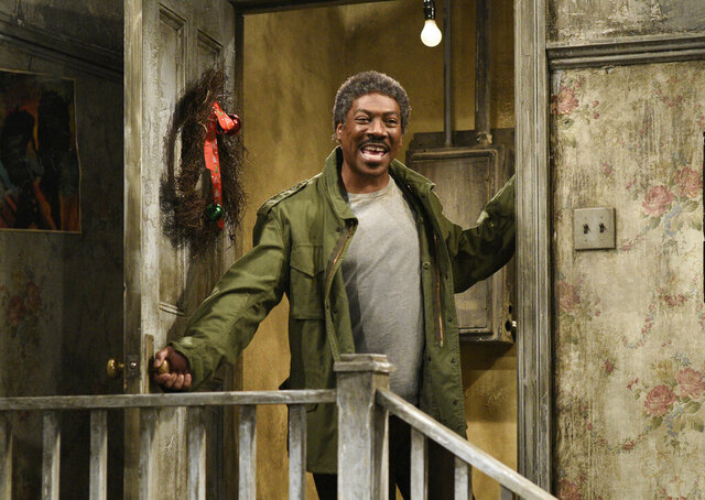 This Dec. 21, 2019 photo shows Eddie Murphy in a sketch from