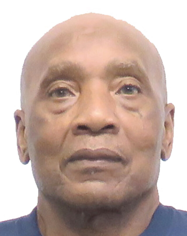 This undated photo released by the Iowa Department of Corrections shows Gentric Hicks, an inmate at the Anamosa State Penitentiary in Anamosa, Iowa. Lawyers for Hicks, 73, maintain that he was wrongly convicted of first-degree murder in 1977 and are seeking DNA testing on an orange hunting cap that the killer left at the crime scene. (Iowa Department of Corrections via AP)