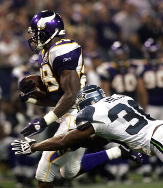 Adrian Peterson, Lawyer Milloy