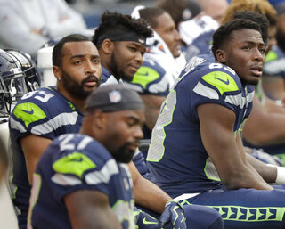 Chargers Seahawks Football