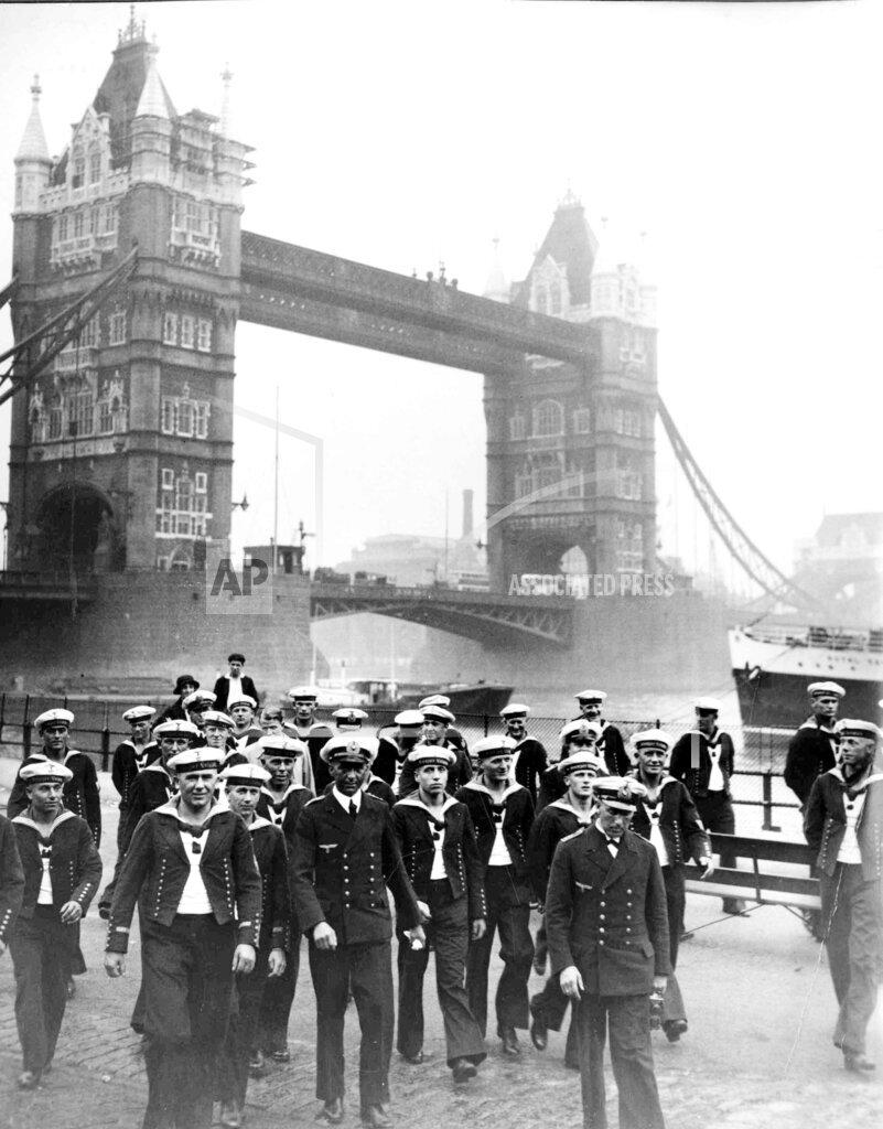 Watchf Associated Press International News   England APHSLDEU50 London German Sailors