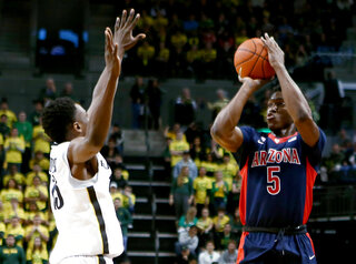 Arizona Oregon Basketball