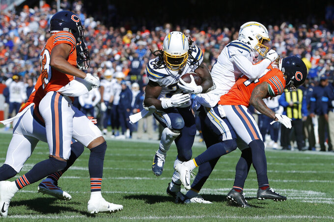 Chargers running game continues to stall at alarming levels