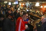 Patrons gather at Neir's Tavern on Saturday, Jan. 11, 2020, in the Queens borough of New York. The 190-year-old New York City tavern where scenes from the movie
